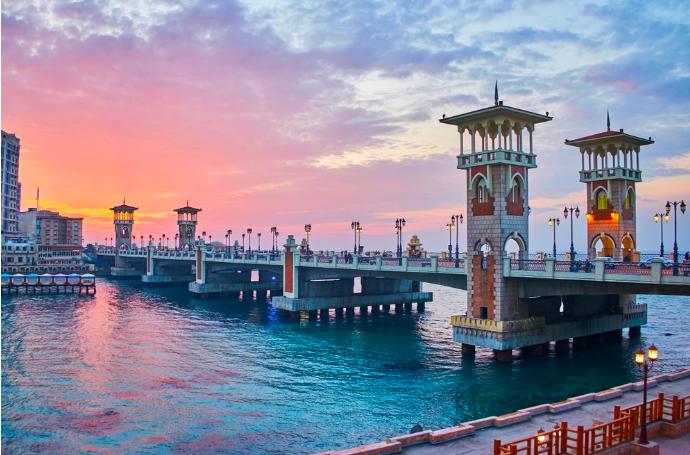 เมืองอเล็กซานเดรียไข่มุกทะเลทรายที่อียิปต์